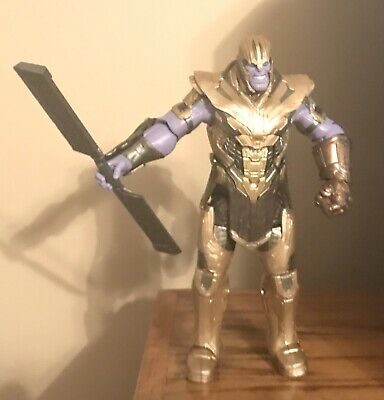 Marvel Legends Avengers Endgame Armored Thanos BAF Complete FIGURE 2019