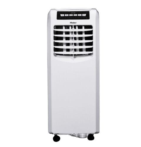 Haier 9,500 BTU ASHRAE Portable Air Conditioner with Remote, White