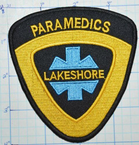 CANADA, LAKESHORE PARAMEDICS EMS EMERGENCY ESSEX-WINDSOR? PATCH