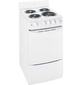 small apartment size 20 freestanding white electric range oven ra720k