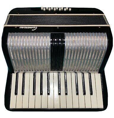 12 bass accordion,440A Camerano, bellows great no leaks, all notes play