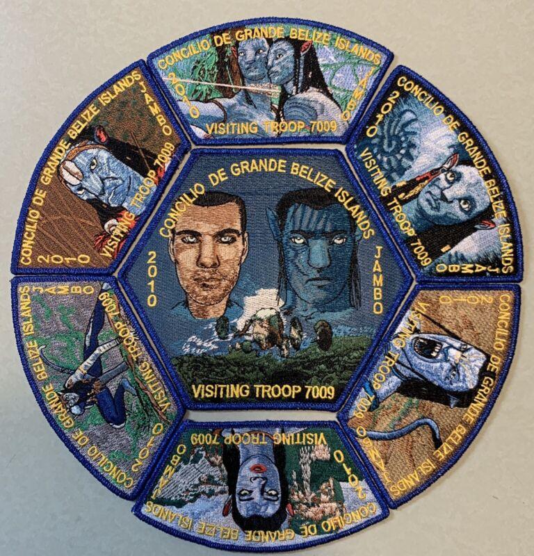 2010 Jamboree Avatar Visiting Troop Set (blue) (f-3)