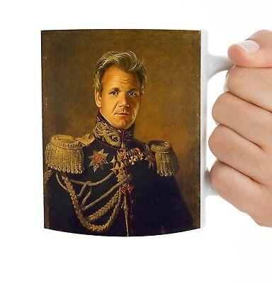 Funny Coffee Mug Gordon Ramsay FREE SHIPPING Colonel Ramsey Coffee Cup Gift Colonel Coffee Mug