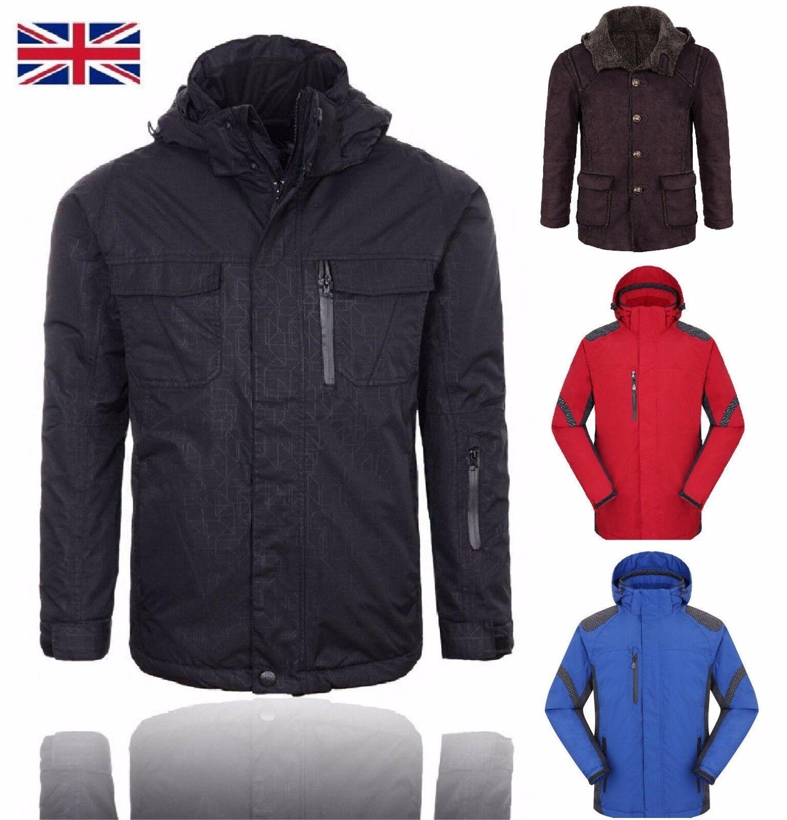 Men Women outdoor Jacket Winter Warm Coat Inner Fleece Waterproof ski mountain