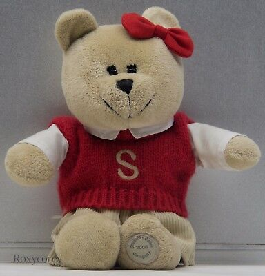 Starbucks 34th Bearista 2004 Bear Boy with Back to School Outfit ](Starbucks Outfit)