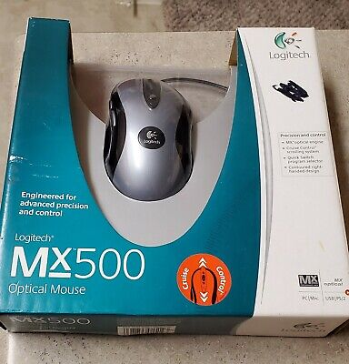 Logitech MX500 USB Gaming Mouse (wired)