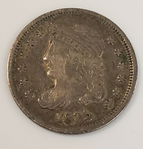 1835 Capped Bust Half Dime 5c in VF Condition
