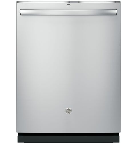 "GE Profile™ Series 24"" Hidden Control Tall Tub Built-In Dishwasher with Stainless Steel Tub Stainless Steel PDT825SSJSS"