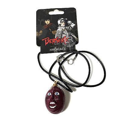 Berserk Anime Red Behelit Awaken Necklace Cosplay Official Licensed Tag