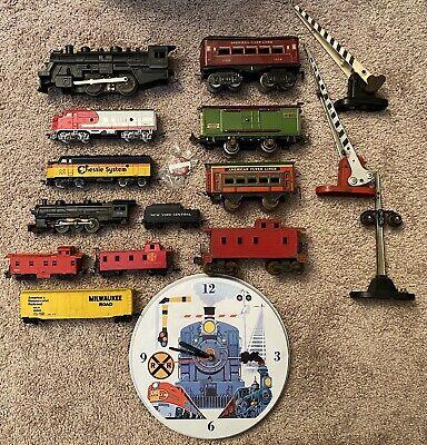 LOT OF 17 HO Scale O Gauge Train Set Engines Bachmann Lionel American Flyer Marx