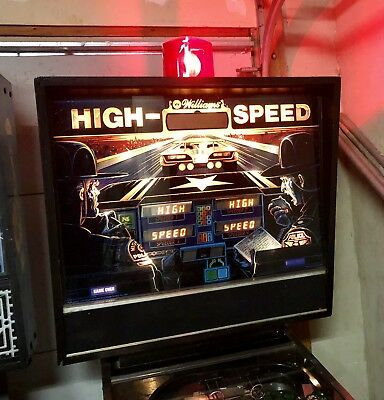 WILLIAMS HIGH SPEED PINBALL MACHINE