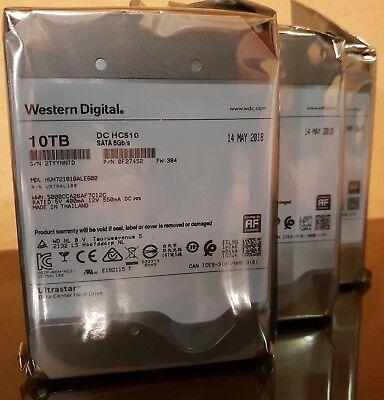 10TB Western Digital Ultrastar DC HC510 512e ISE P3 SATA HUH721010ALE600/0F27452