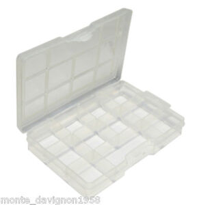 PLASTIC BEAD BOX STORAGE CONTAINER 11 COMPARTMENTS