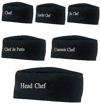 New Hot Popular Chefs Catering Hat Kitchen Porter Round Cap Head Chef Su Chef