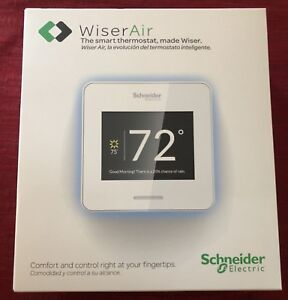 Schneider Electric Wiser Air Smart Thermostat Wi-Fi Programmable