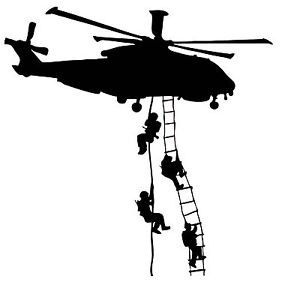 Large Army Helicopter Art Bedroom Wall Mural Wall Decal Sticker Transfer Vinyl