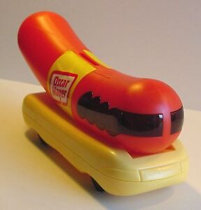OSCAR MAYER WIENERMOBILE BANK Original Hot Dog Weiner Car Vintage 1993 NOS