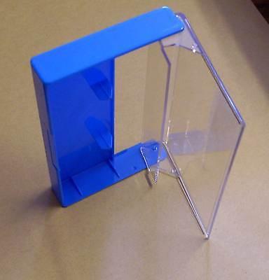 10 Kassettenhüllen Leerhüllen für Cassetten MCs Hüllen blau Box Kassetten Neu