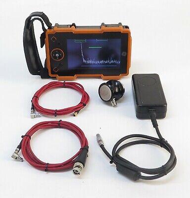 Ge Usmdms Usm Go Portable Ultrasonic Flaw Detector W V607 Transducer