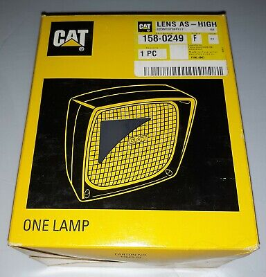 Caterpillar Cat 158-0249 Lens High Assembly New Old Stock From Shop