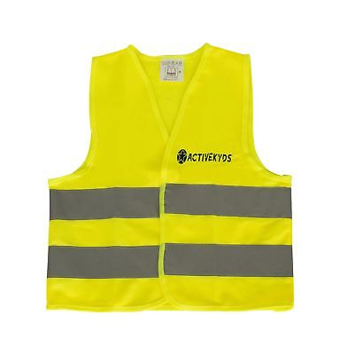 Kids Safety Vest for Construction Costume, Biking, High Visibility](Construction Vest For Kids)