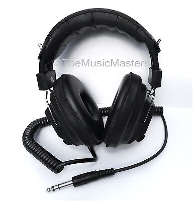 NEW! Home Audio Stereo Headphones w/ Volume Controls Pro DJ Music Studio Monitor