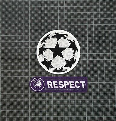 Usado, UEFA Champions League Starball & Purple RESPECT Sleeve Patches/Badges 2009-2011 segunda mano  Embacar hacia Spain