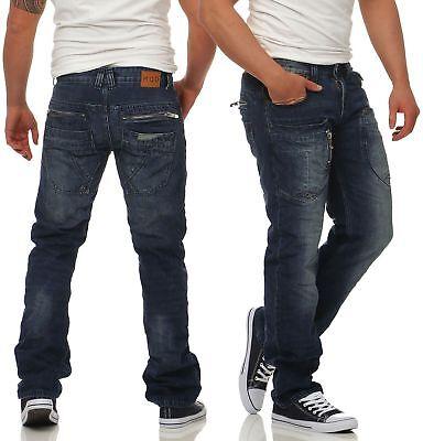 M.O.D Herren Jeans Danny Comfort Fit Männer Hose Pants denim Straight Leg - Straight Leg Hose Jean