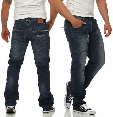 M.O.D Herren Jeans Danny Comfort Fit Männer Hose Pants denim Straight Leg