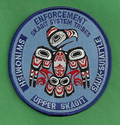 SKAGIT SYSTEM WASHINGTON TRIBAL POLICE PATCH