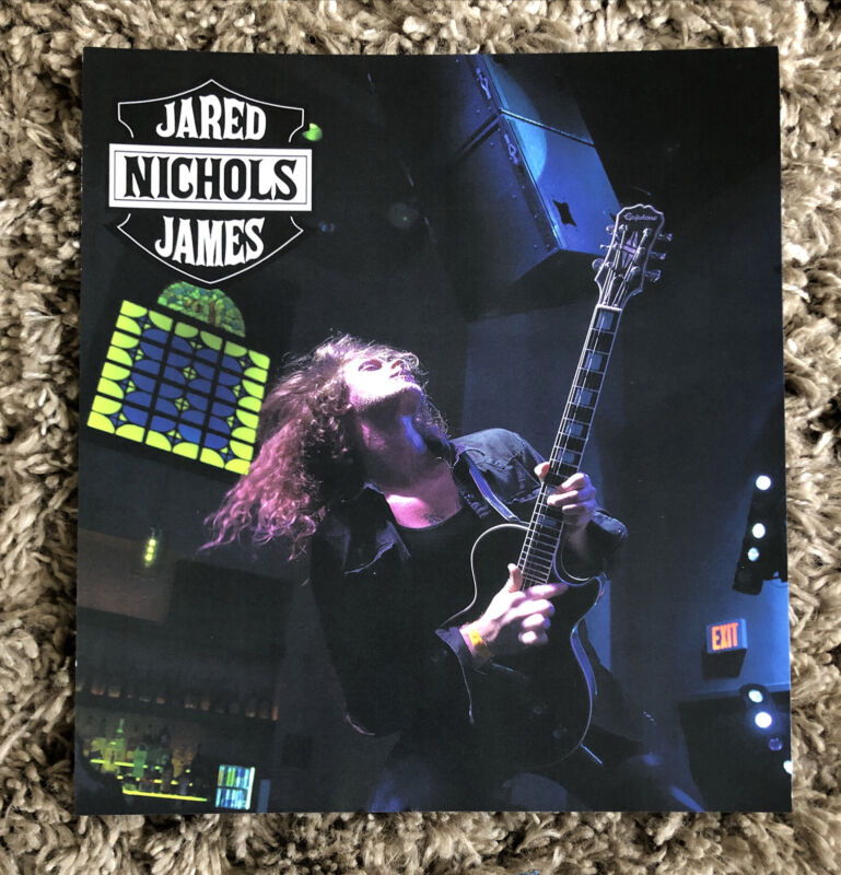 Jared James Nichols 2019 CONCERT TOUR POSTER PICTURE 11 Inches Wide x 12 Tall