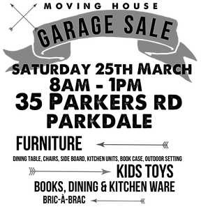 Garage Sale/Moving House Parkdale Kingston Area Preview