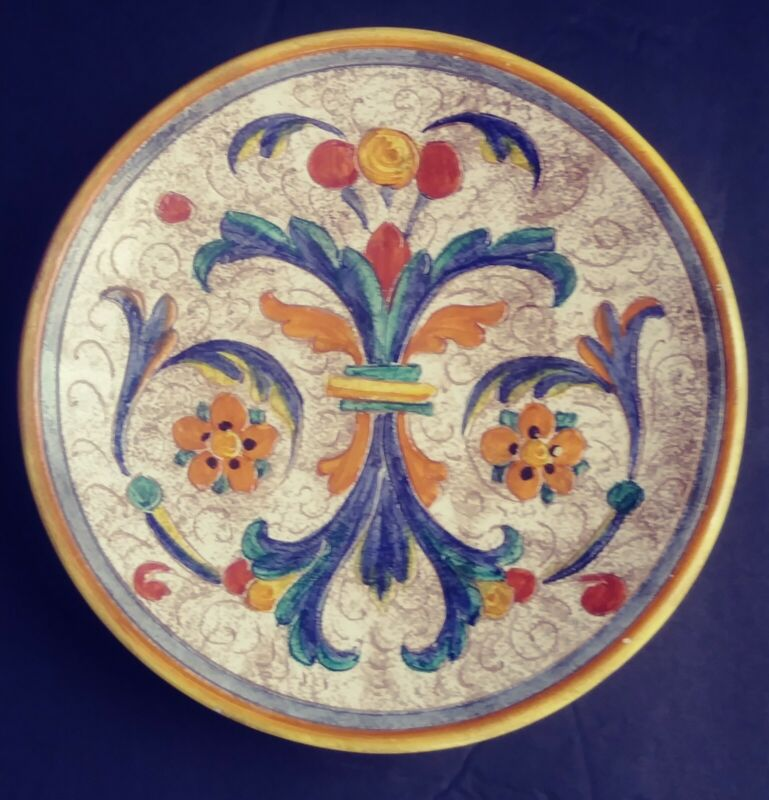 Beautiful  Ceramic Larce Orvieto plate
