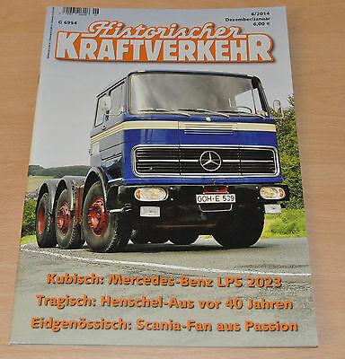 Historischer Kraftverkehr HIK 6/14 Mercedes LPS 2023 Henschel Scania NWF Magirus