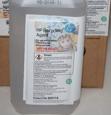 Hp Indigo Recycling Oil Digital Press 3550 5500 Series Q4311a New From 112016
