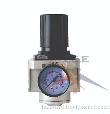 Air Pressure Regulator For Compressed Air 1 W Gauge High Pressure 300 Psi Max