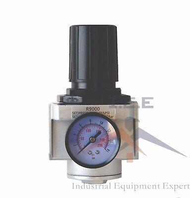 Air Pressure Regulator For Compressed Air 1 W Gauge High Pressure 300 Psi Max
