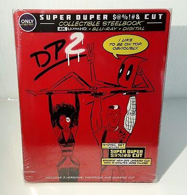 DEADPOOL 2 [4K UHD / Blu-ray / Digital] STEELBOOK <BEST BUY> OOS/OOP