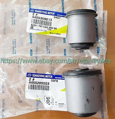 Genuine FRT LWR ARM Front&Rear Bush:2p for ACTYON SPORTS, REXTON #4455209003+