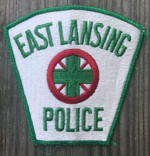 East Lansing Police Department MI Michigan Shoulder Patch