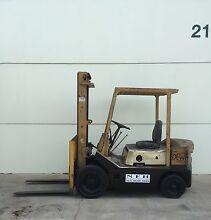 TCM forklift 2500kg,3987mm lift, petrol $4000.00 Narellan Camden Area Preview