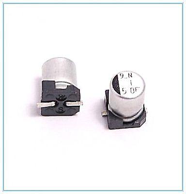 10pcs 1uf 50v Elna Smd Aluminum Electrolytic Capacitor 4x5.5mm.smdsmt 50v1uf