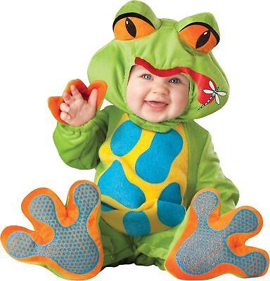 Lil' Frosch- Kleinkind Kostüm Baby Frog Amphibien Tier - Kleiner Frosch Kind Kostüm