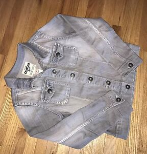 GIRLS size 8 Jean Jacket LIKE NEW