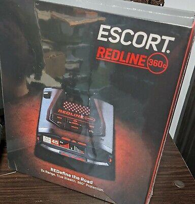 BRAND NEW Escort Passport Redline 360c radar detector