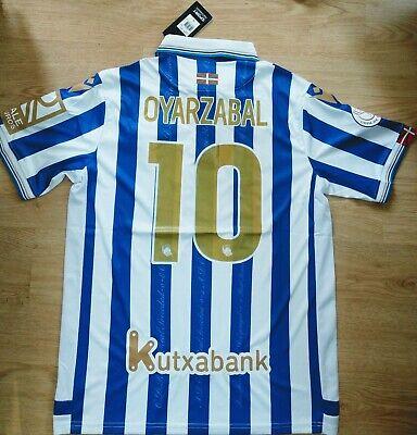 Camiseta Oyarzabal Real Sociedad Final Copa Shirt New BNWT Trikot Maillot Maglia