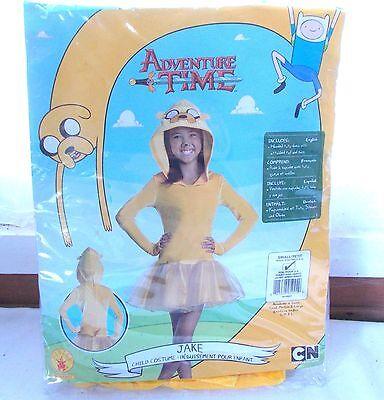 New Rubie's Adventure Time Jake Girls Halloween Costume Small 4-6 - Adventure Time Costumes For Girls