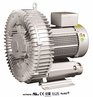 Pacific Regenerative Blower Pb-500 Hrb-500 Ring Vacuum And Pressure Blower