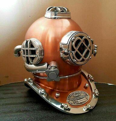 Antique Diving Helmet U.S Navy Mark V Scuba Deep SCA Antique Divers Helmet gitf