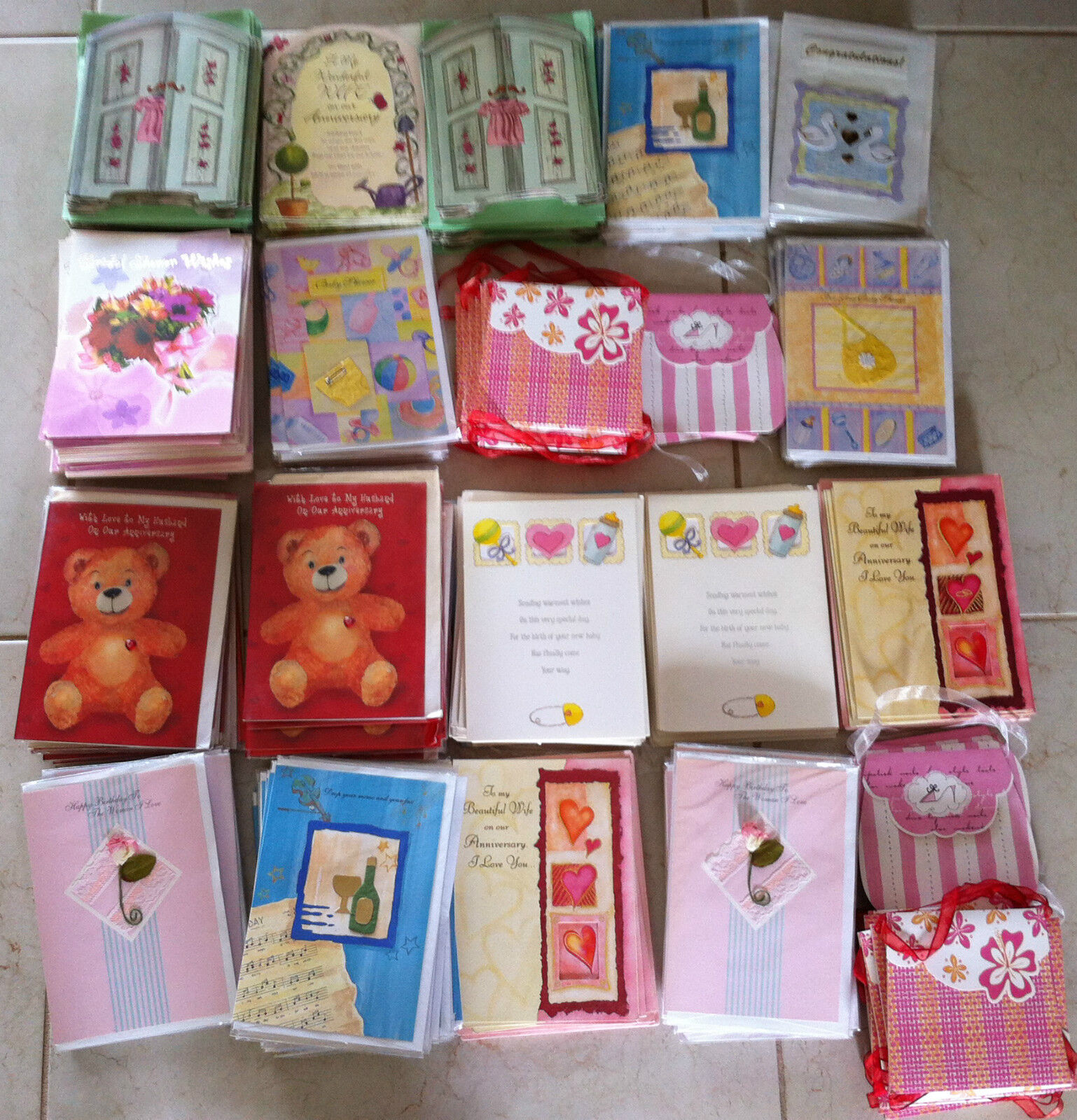 Wholesale Greeting Cards For Resale - Packs Of 12 Cards - Assorted Occasions